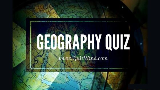 Geography quiz poster