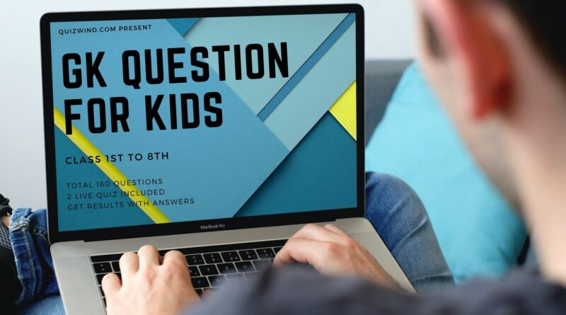 gk questions for kids