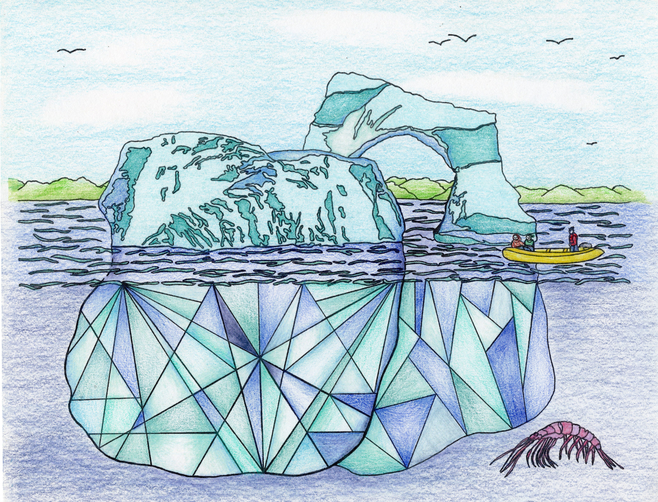 Atlantic Icebergs