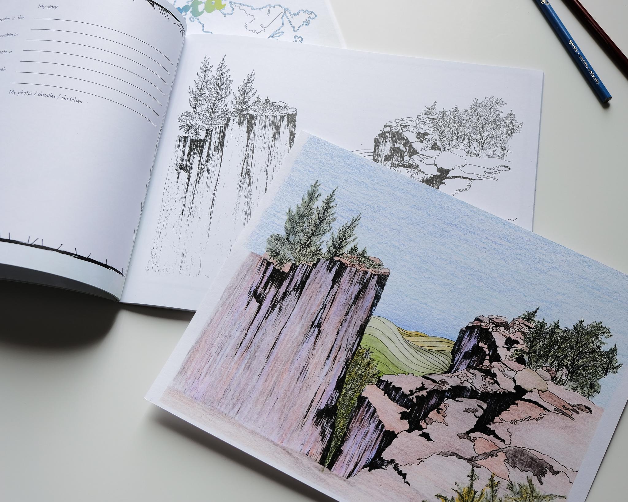 Alberta 2 - Sights of Canada - Activity Book