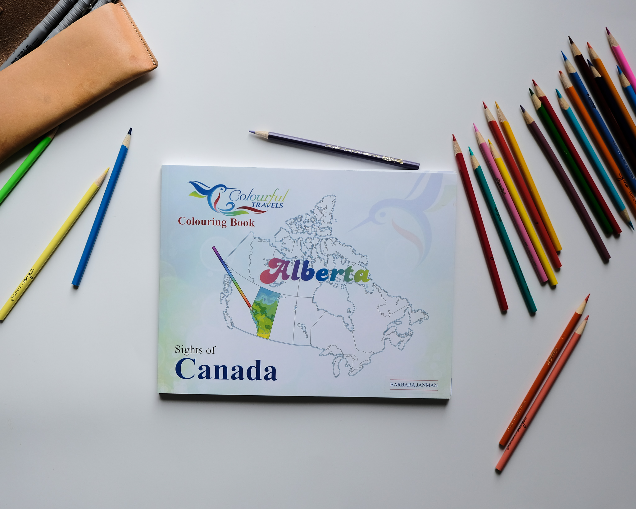 Alberta - Sights of Canada - Activity Book