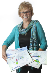 Barbara Janman, Colourful Travels Author