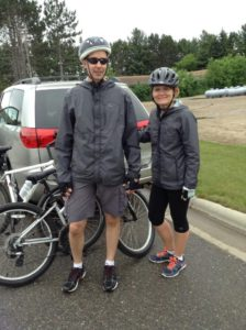 After a 35 mile Bike Trip