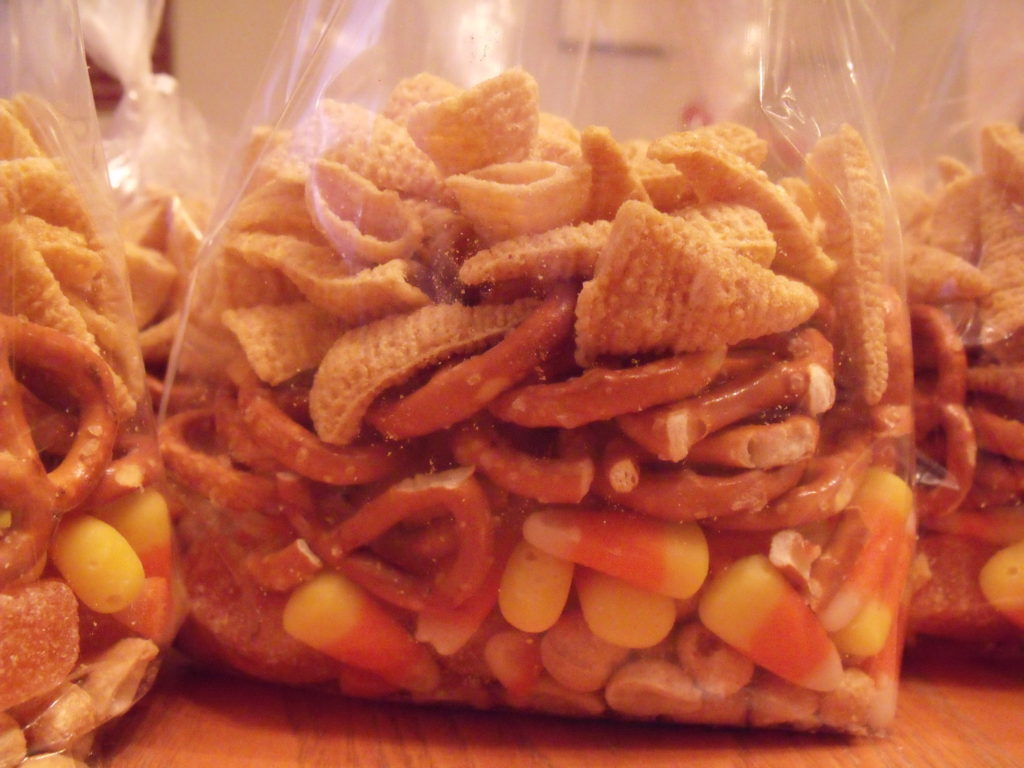 Thanksgiving Snack Bag