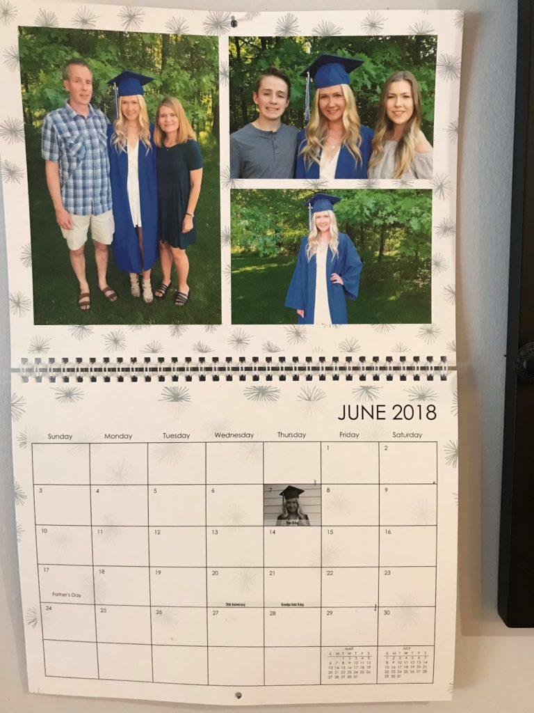 Photo Calendar gift