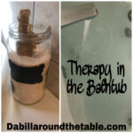 Therapy in the Bathtub- Your best therapy this winter