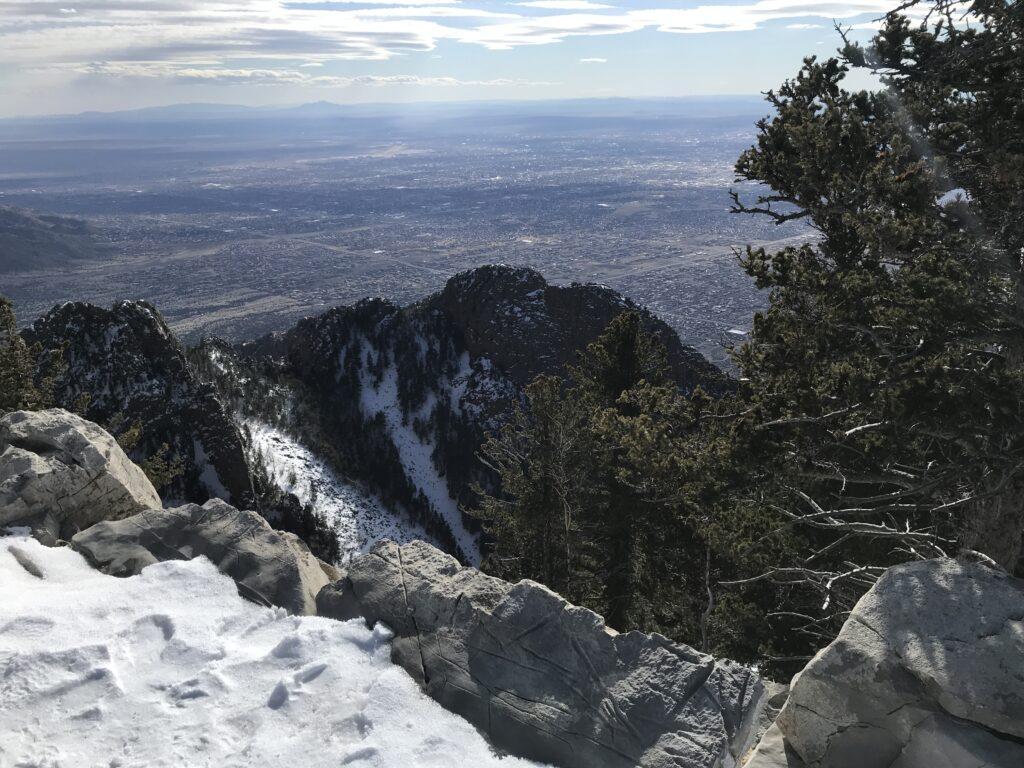 Sandia Mountain Crest