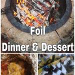 Foil Dinner and Dessert/Recipe