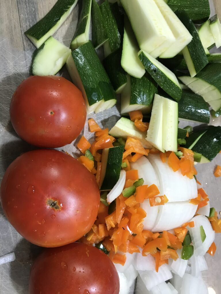 Veggies for maindish
