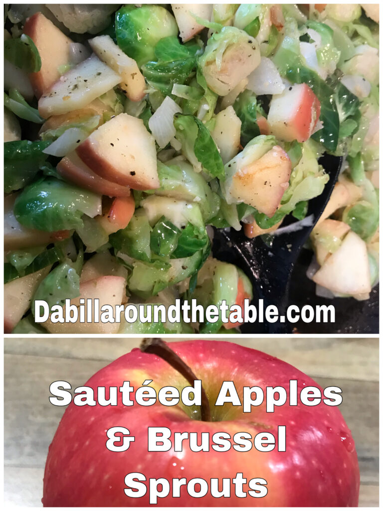Brussel Sprouts and Apples