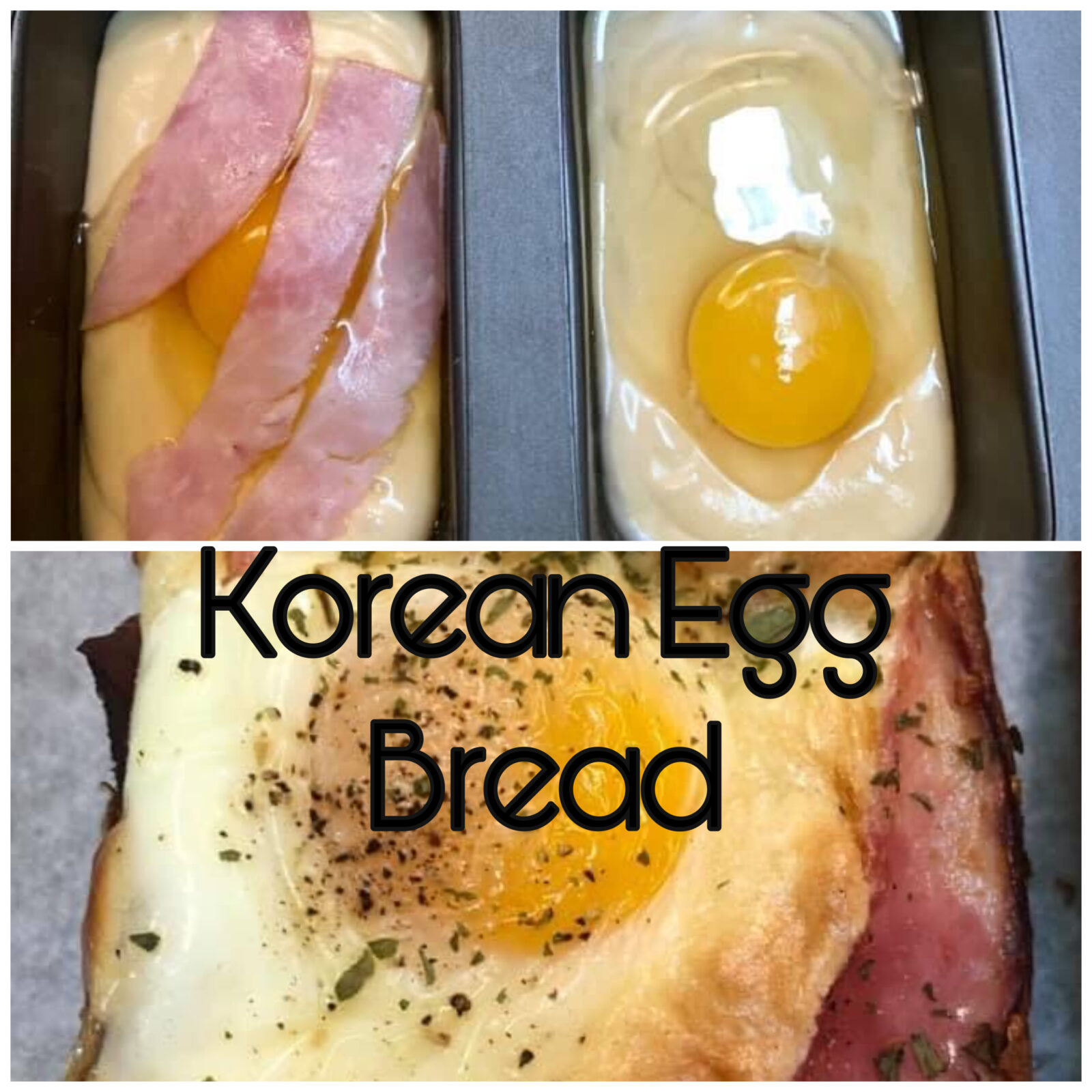 Korean Egg Bread