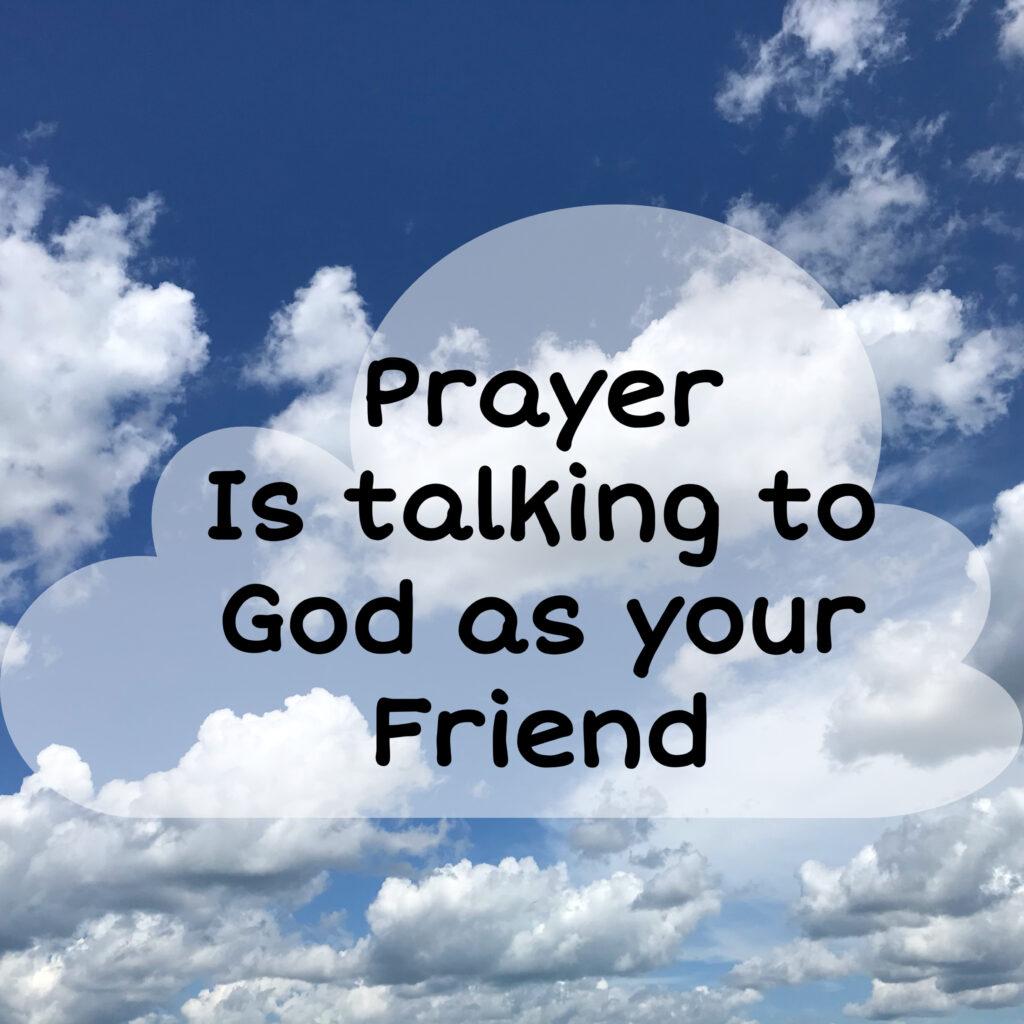 God is friend