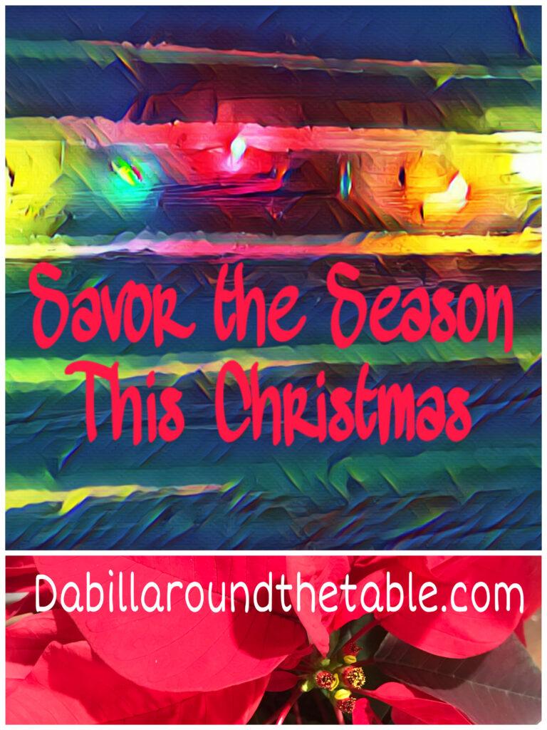 Savor the Season this Christmas