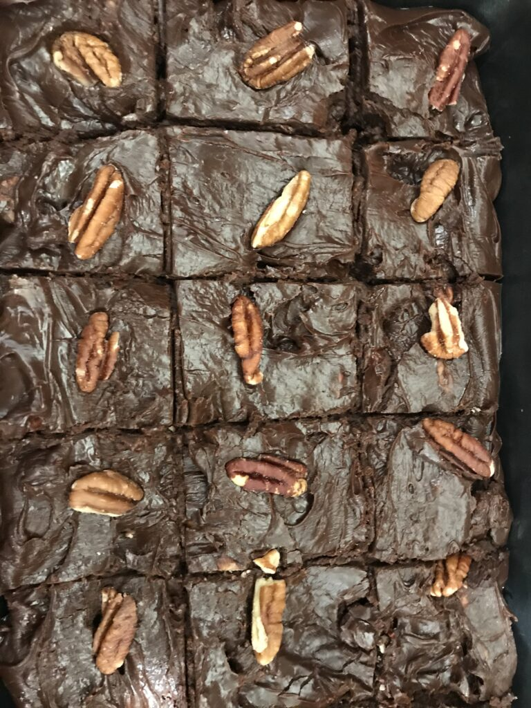 Dark Chocolate Pecan Fudge