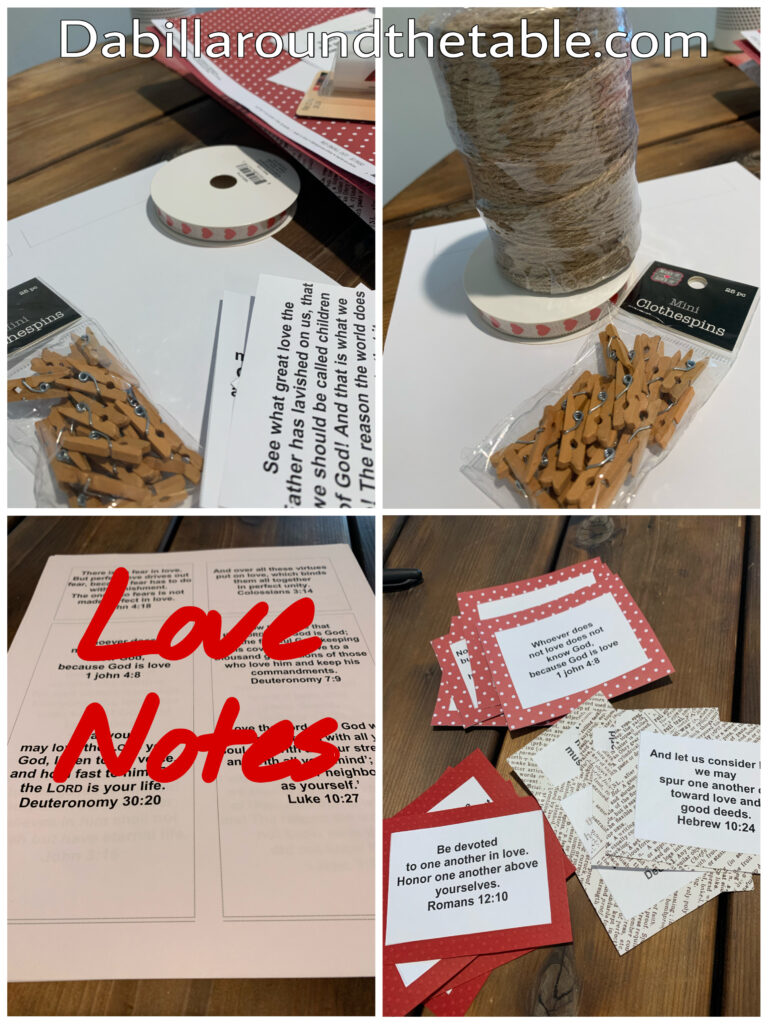 How to make 14 love notes to Valentine's Day