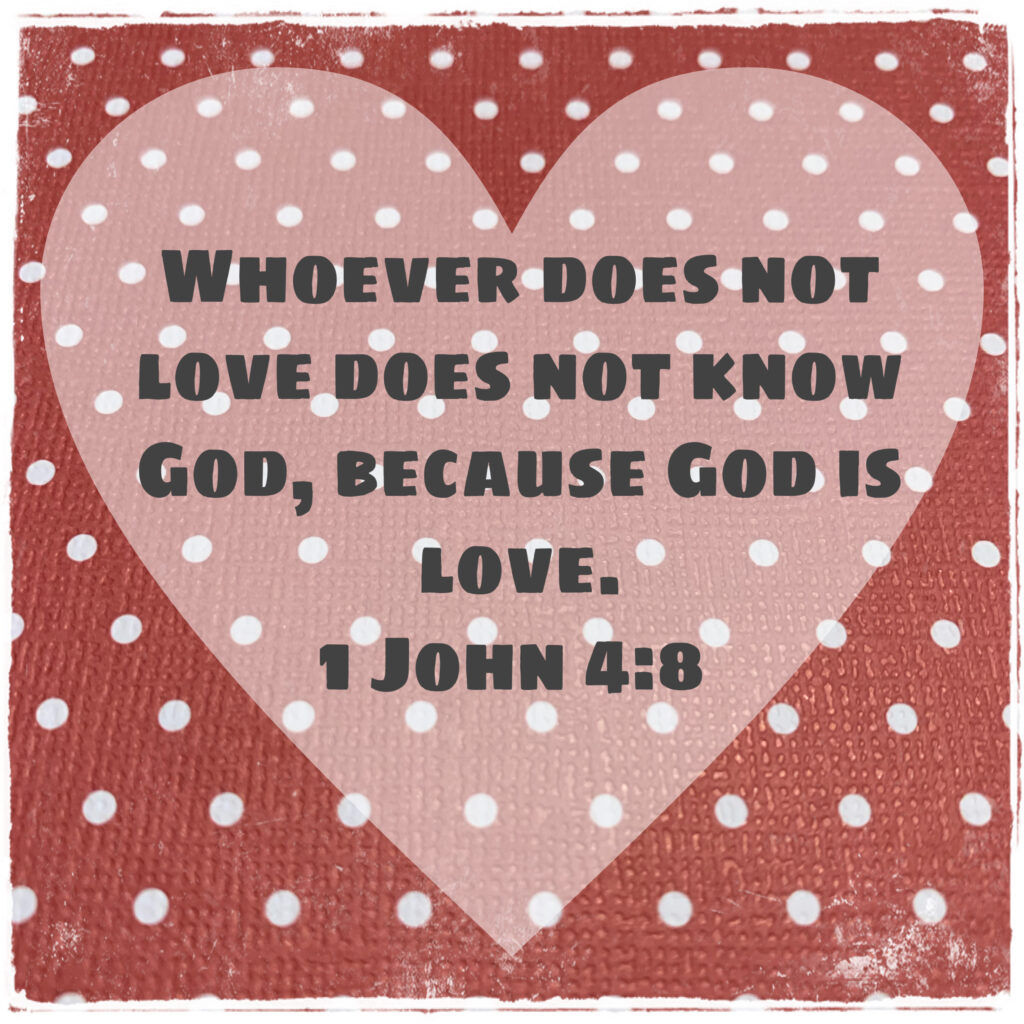 God is love 14 love notes to Valentine's Day
