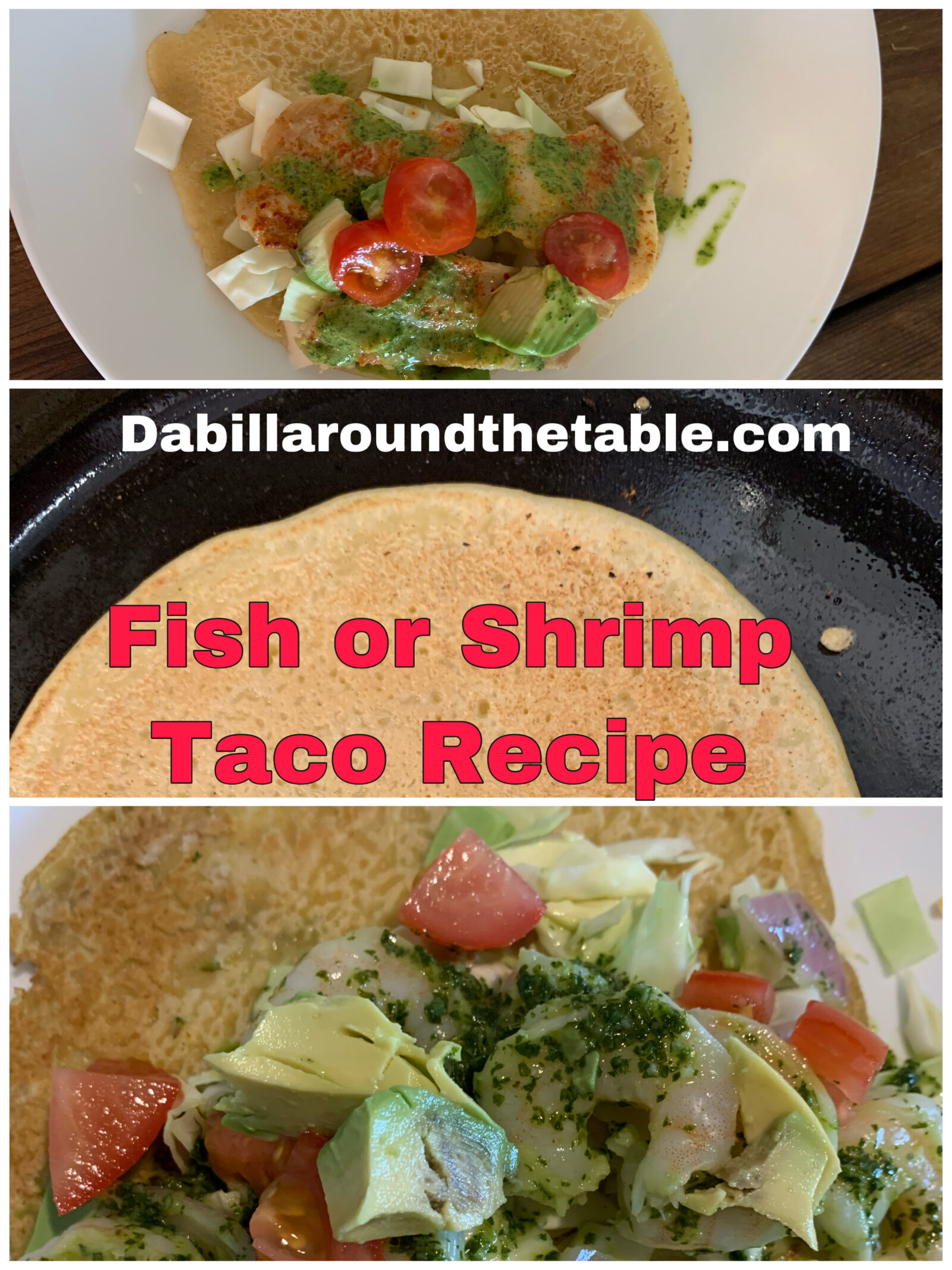 Fish or Shrimp Taco Recipe