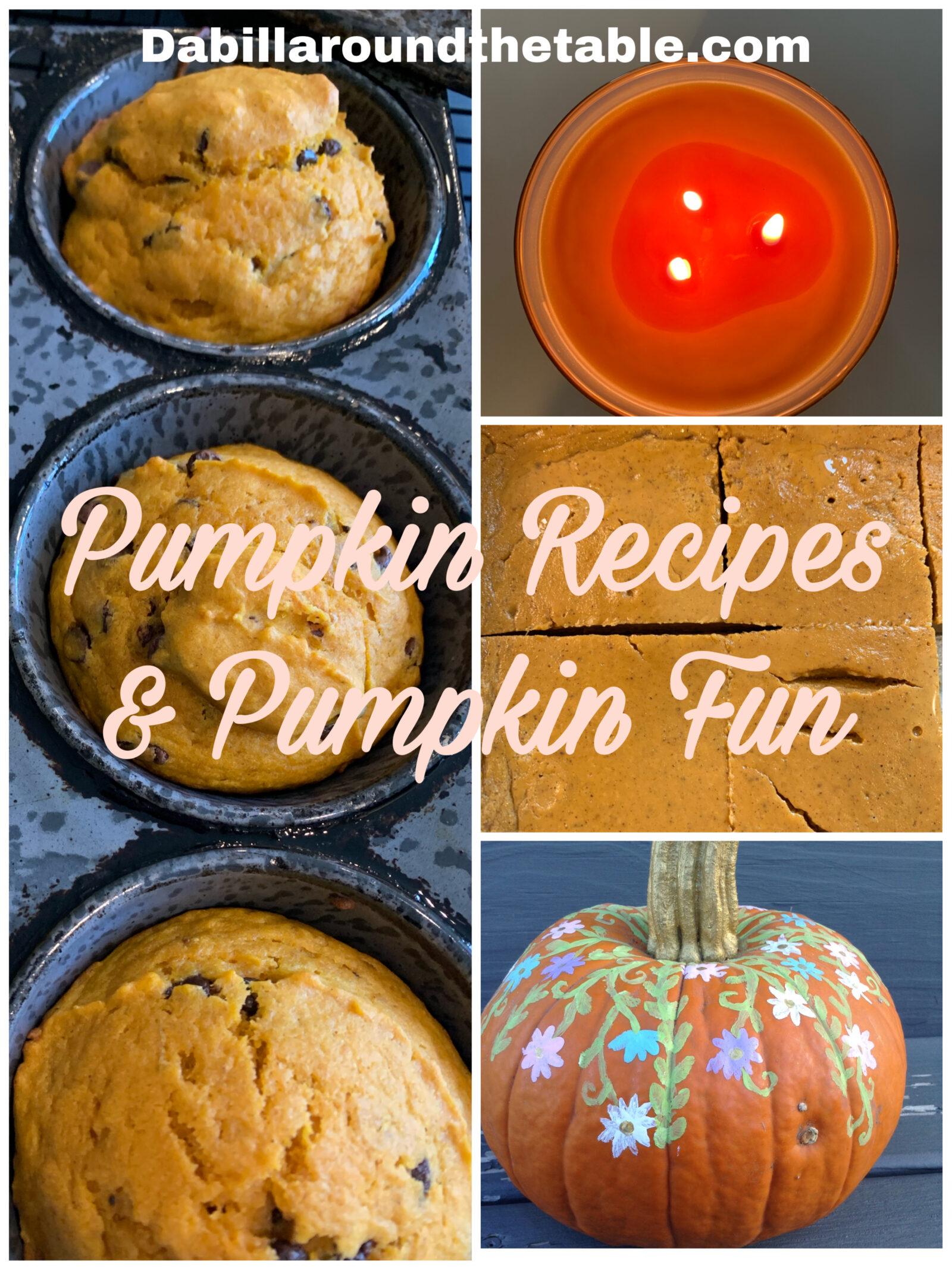 Pumpkin Recipes and Pumpkin Fun