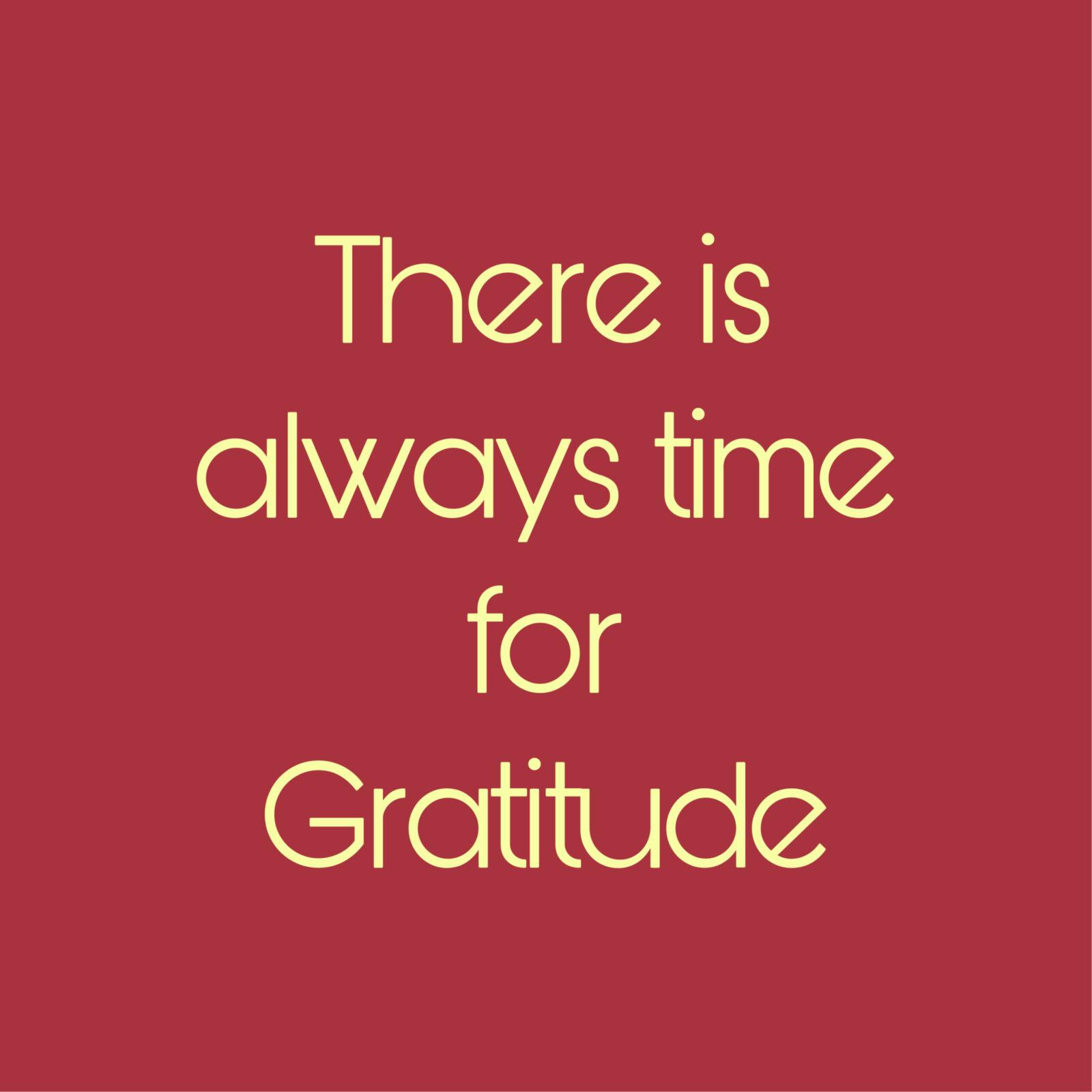 Attitude of Gratitude all year