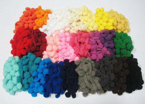 pom pom colors