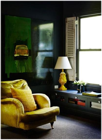 green office yellow