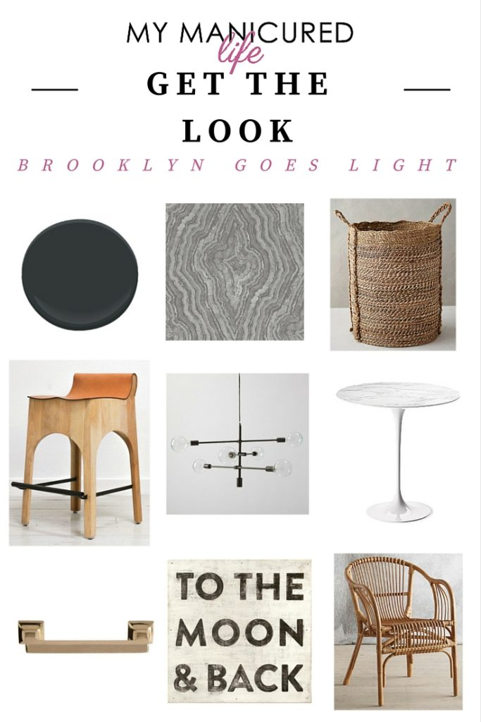 Get The Look - BROOKLYN GOES LIGHT