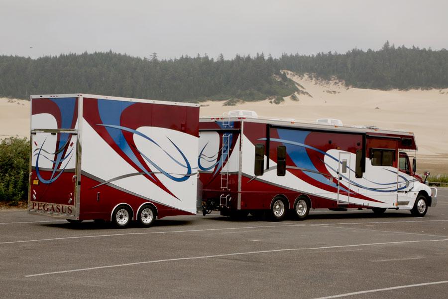 Pegasus Trailers   Custom Built Race Trailer - 16' Stacker