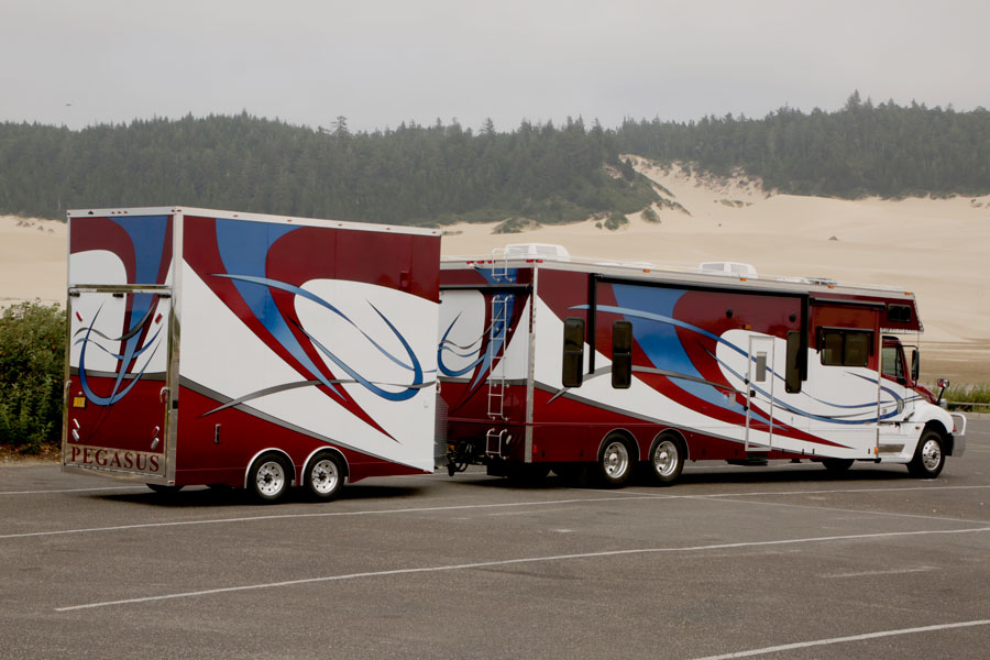 Pegasus Trailers | Custom Built Race Trailer - 16' Stacker