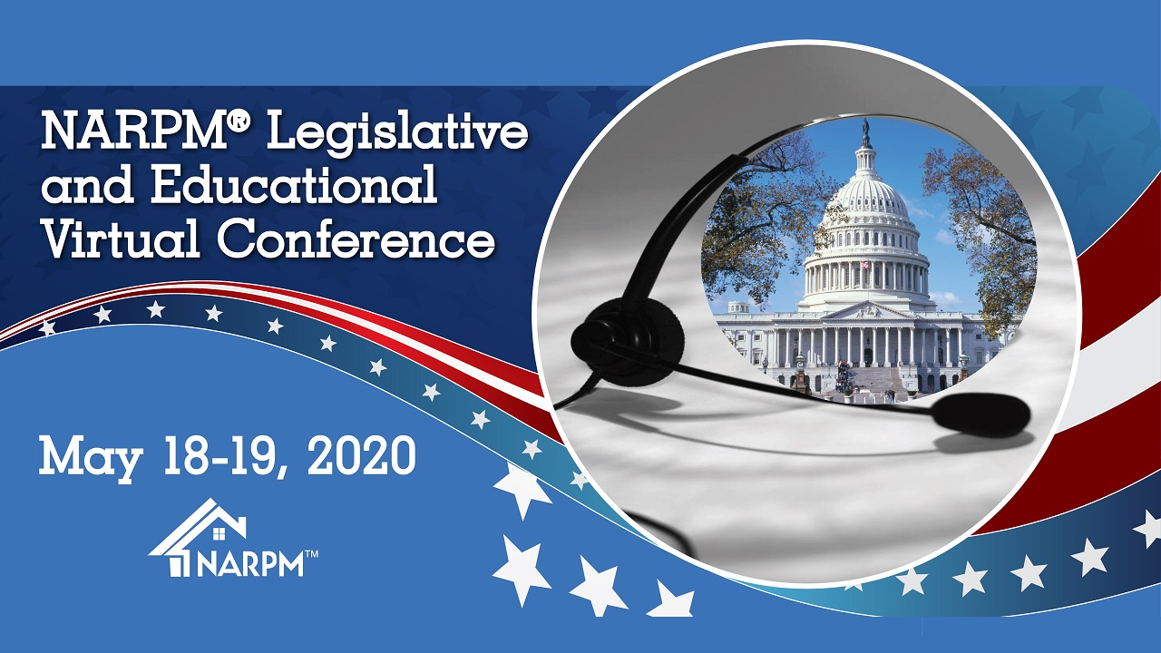 NARPM Legislative and Educational Virtual Conference Monica Gilroy