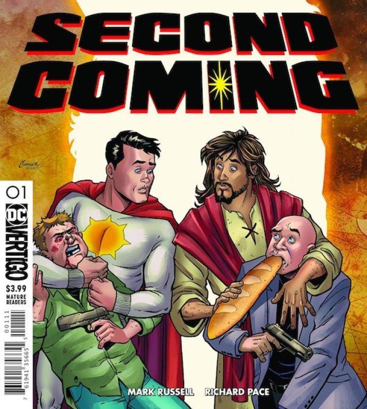 DC comics Jesus