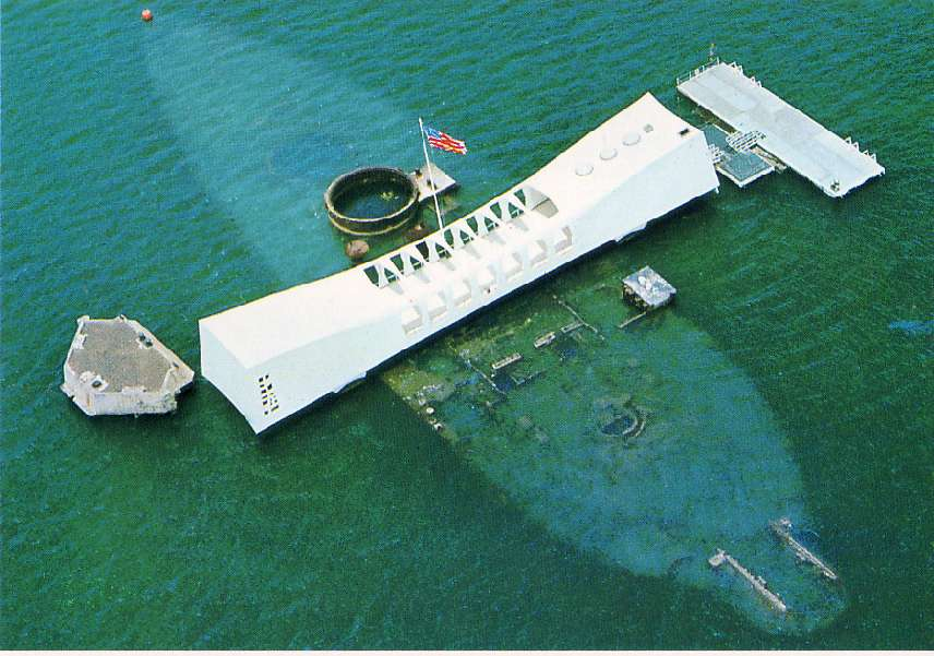 U.S.S. Arizona Memorial and Pearl Harbor