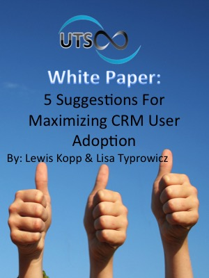 5 Suggestions for Maximizing CRM User Adoption Whitepaper