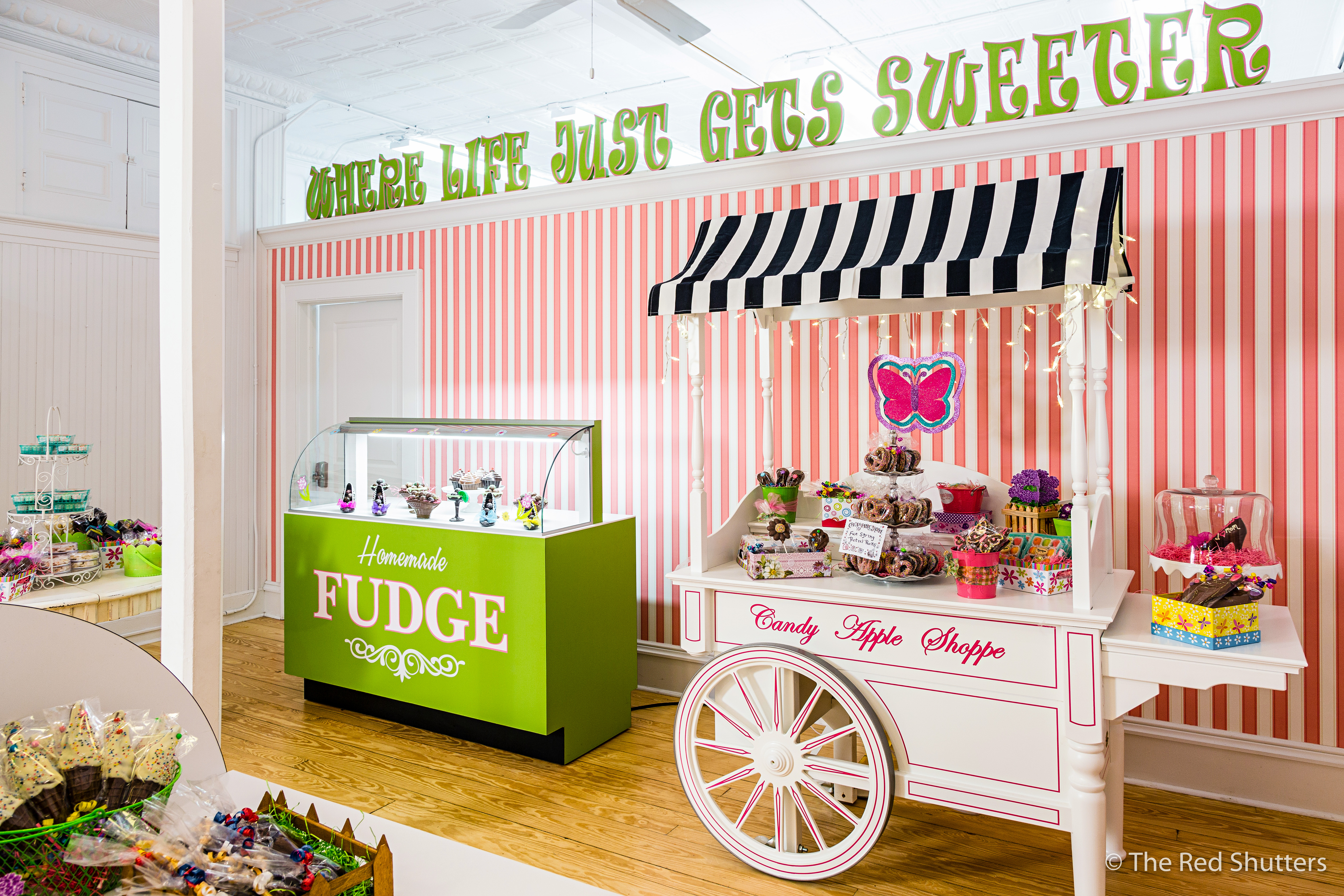 Sweet Client Candy Apple Shoppe