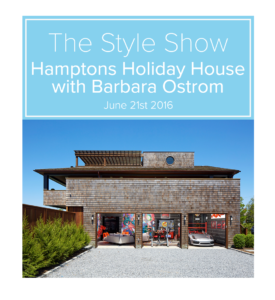 Hamptons Holiday House with Barbara Ostrom
