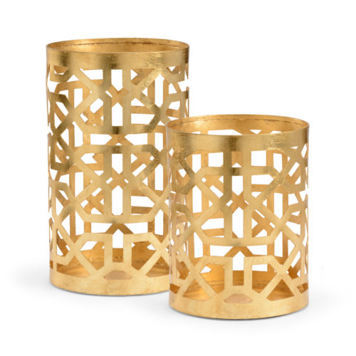 Chelsea House Lattice Hurricane-Gold