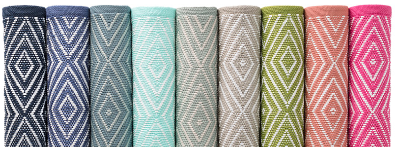 Dash & Albert Diamond Rugs for Outdoors