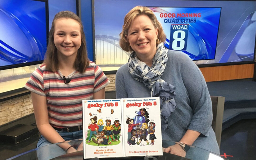 Mom and daughter encourage girls to go for STEM subjects (WQAD-TV)