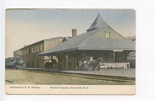 Greenville Train Station