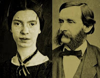 Emily Dickinson and Thomas Wentworth Higginson.