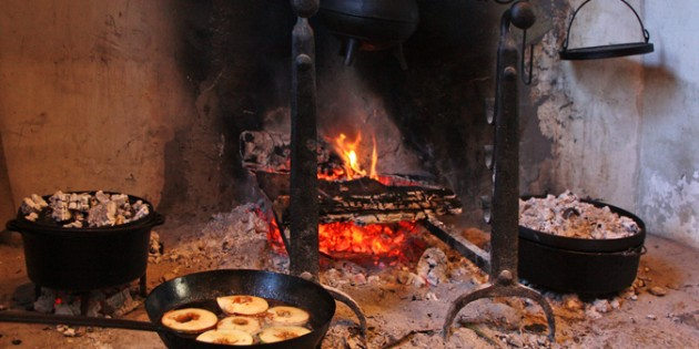 Hearth cooking at the monadnock center