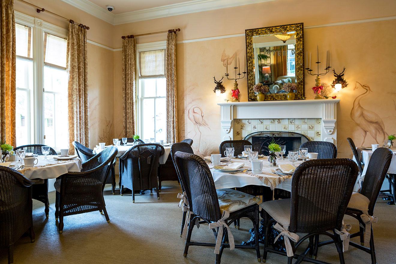 The Historic Tallman Hotel Dining Room