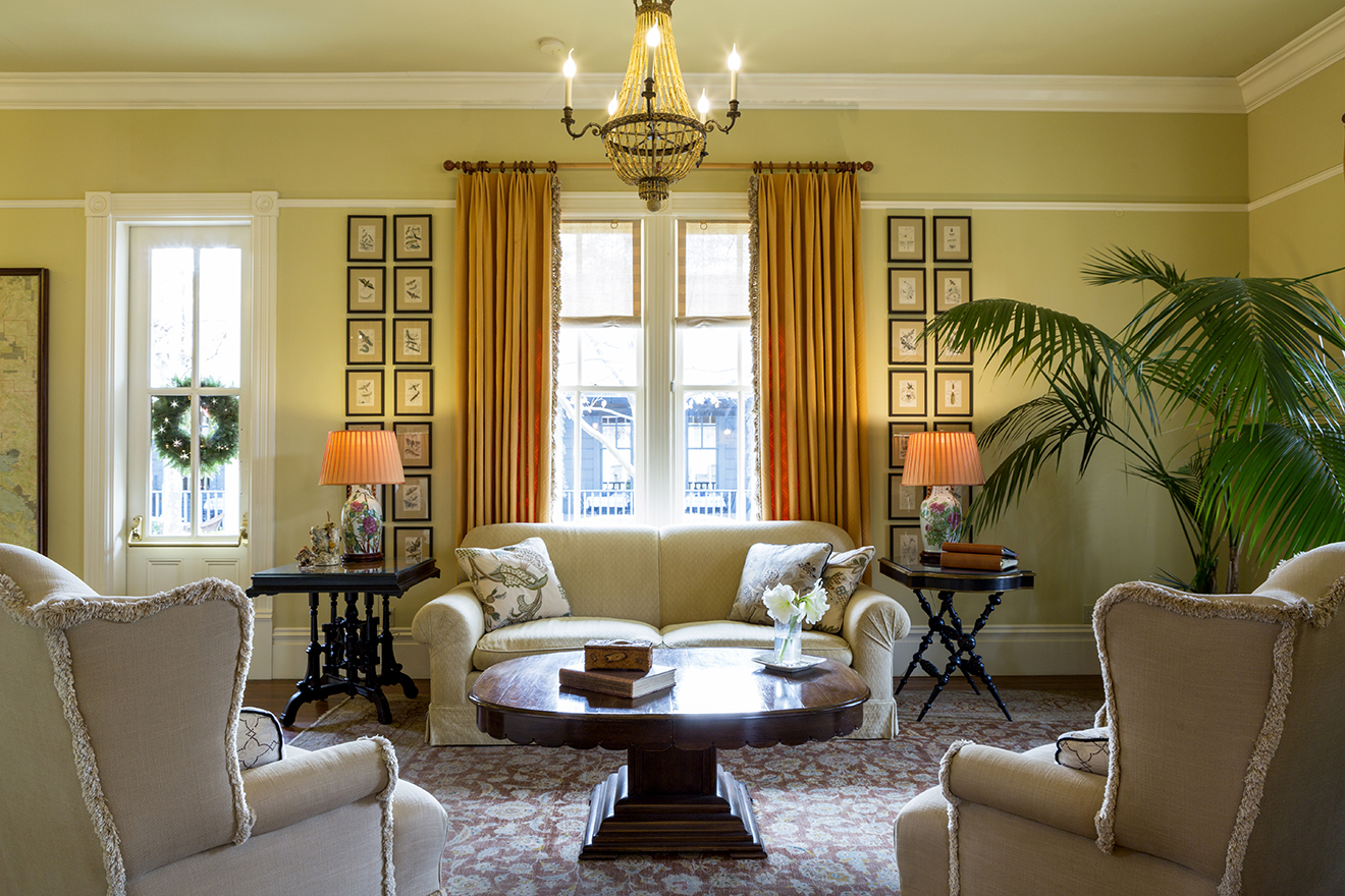 The Tallman Hotel Sitting Room