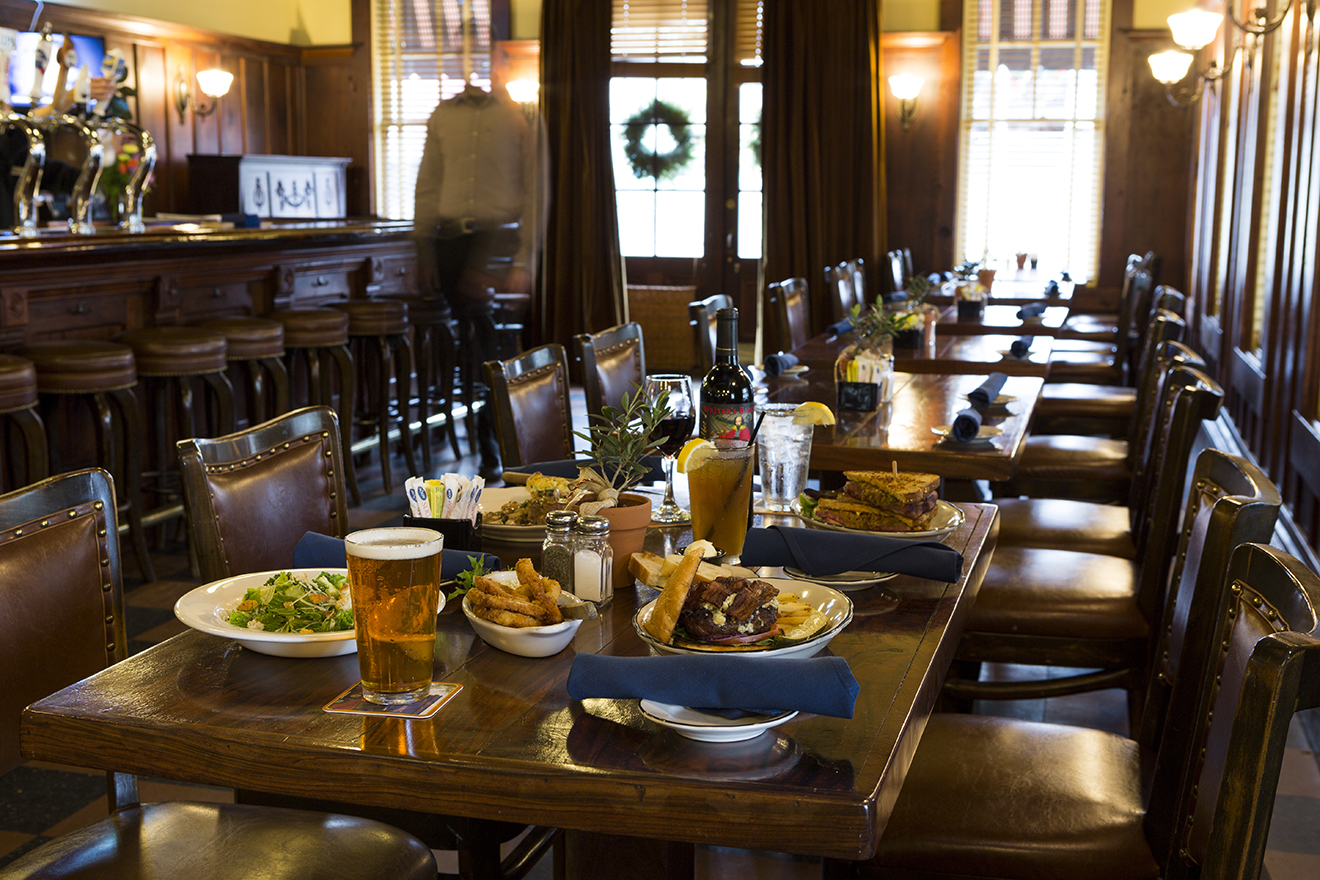 Serving gourmet pub fare and full bar daily.
