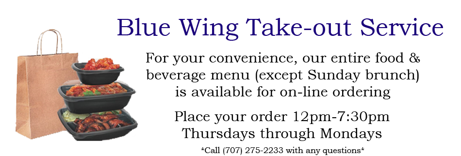 Blue WIng Takeout Service