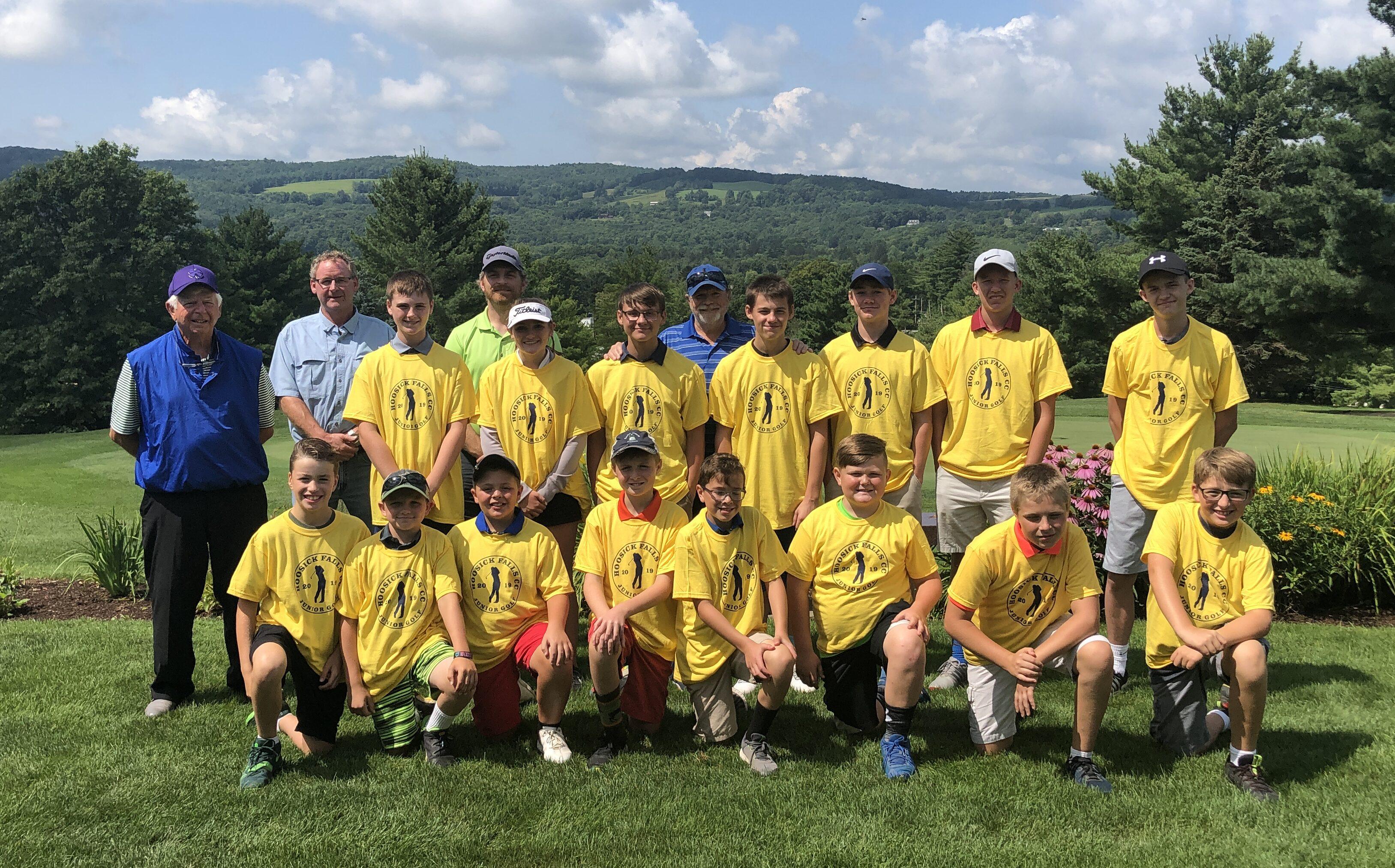 HFCC Junior Golf Clinic 2019