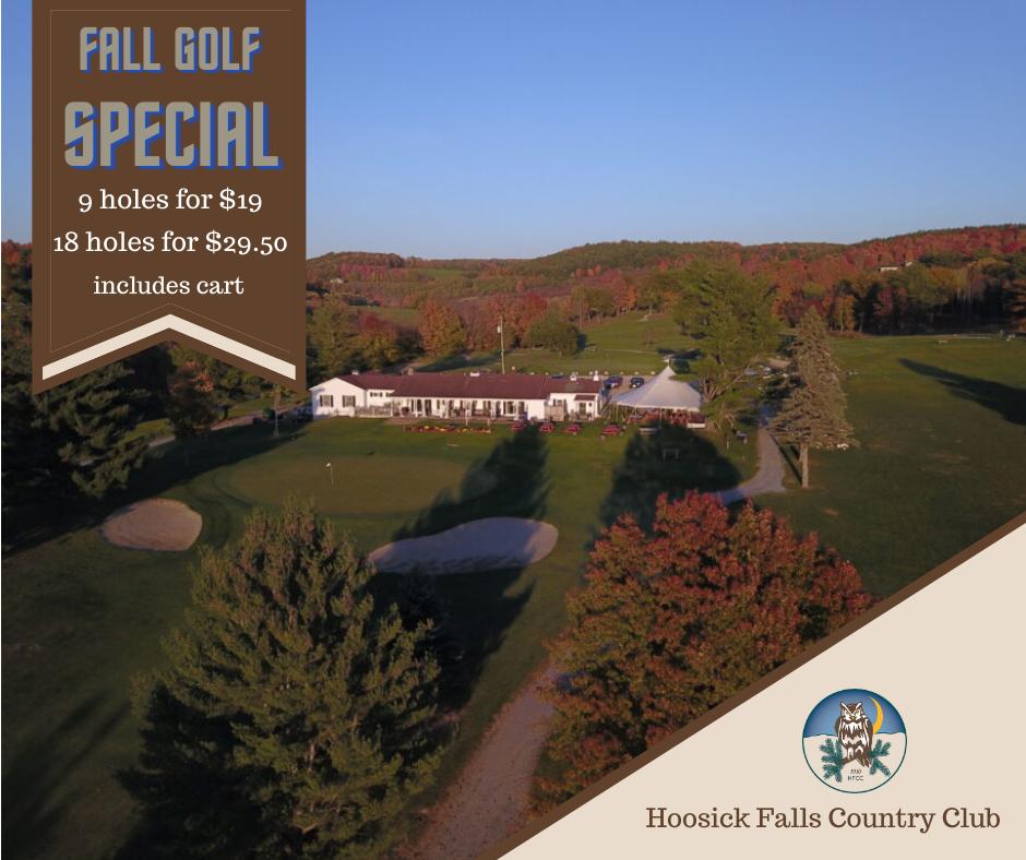 2021 Fall Golfing Special