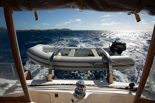 Yacht Whimbrel dinghy