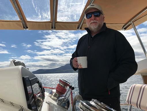 Ben Merritt Skipper of Yacht Whimbrel