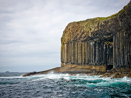 Staffa Island and Fingals Cave Pic: VisitScotland / Kenny Lam