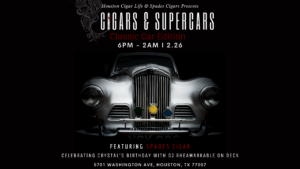Cigars & Supercars | Classic Car Edition @ Axis & Alibi